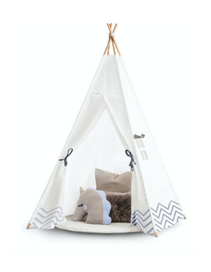Kids Teepee Play Tent - Pearly Moon image 1