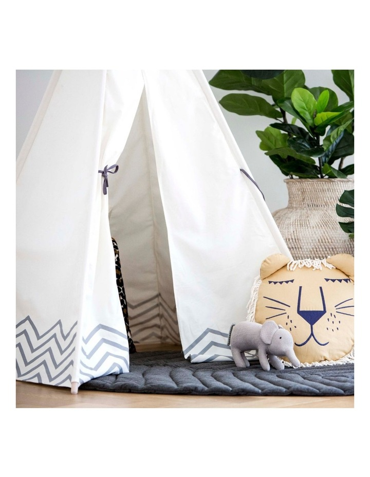 Kids Teepee Play Tent - Pearly Moon image 3