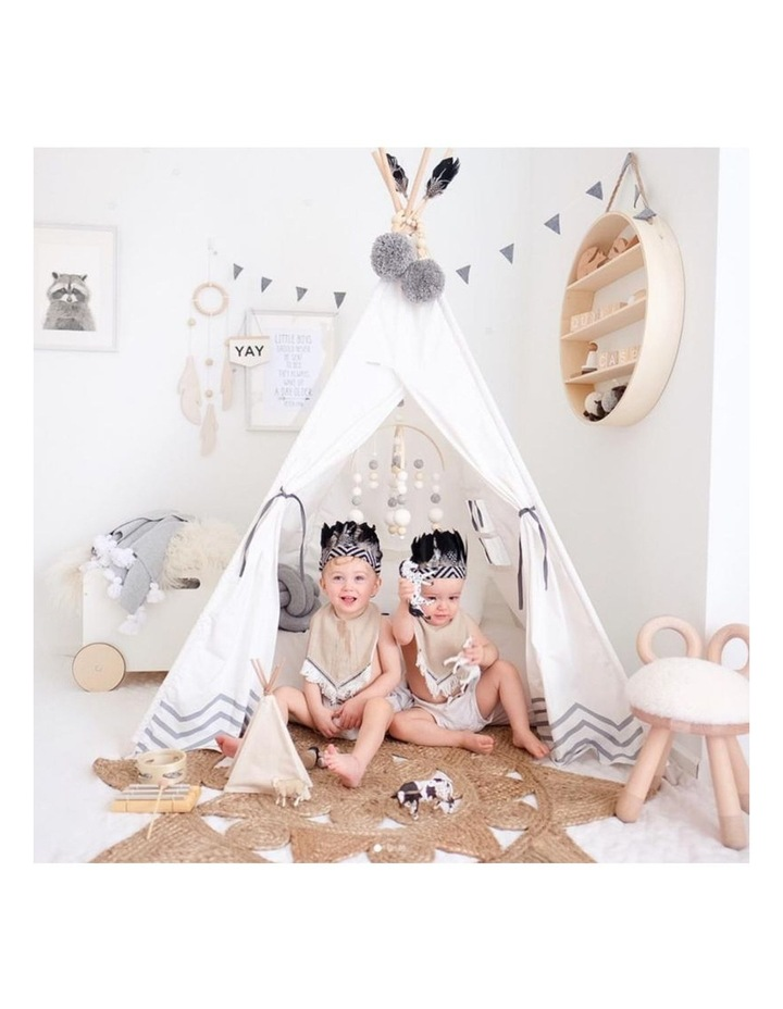 Kids Teepee Play Tent - Pearly Moon image 4