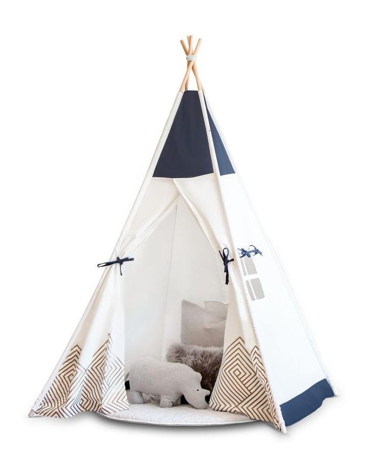 Kids Teepee Play Tent - Gold Cloud image 1