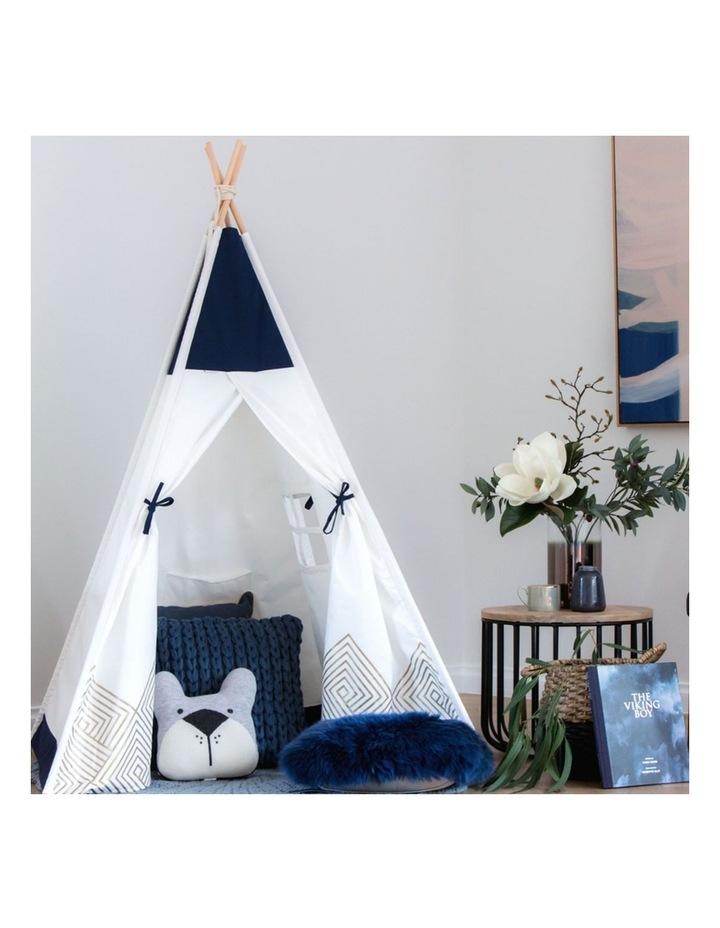 Kids Teepee Play Tent - Gold Cloud image 2