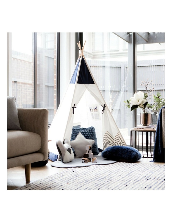 Kids Teepee Play Tent - Gold Cloud image 3