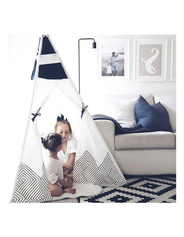 Kids Teepee Play Tent - Gold Cloud image 4