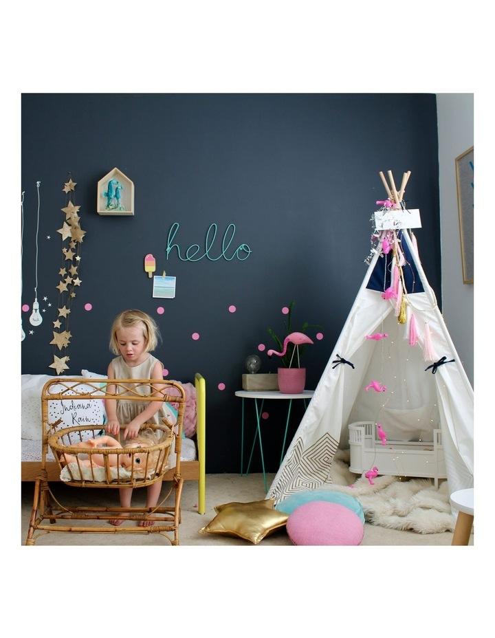 Kids Teepee Play Tent - Gold Cloud image 6