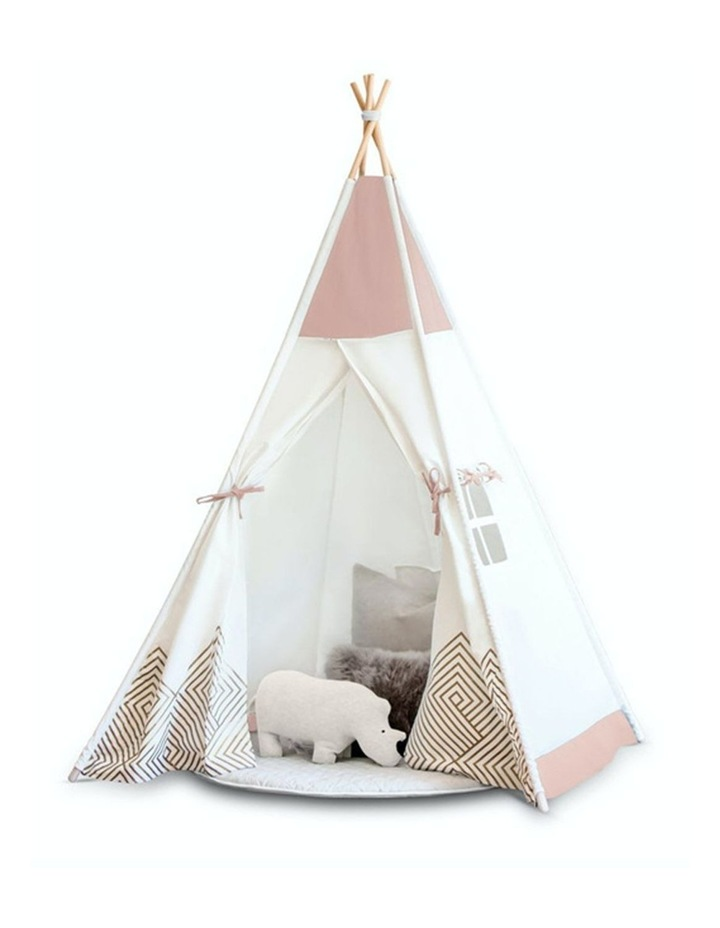 Kids Teepee Play Tent -  Pearl Rose image 1