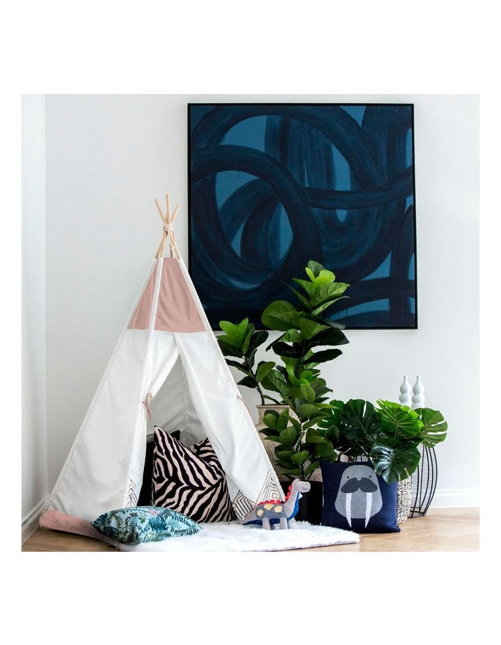 Kids Teepee Play Tent -  Pearl Rose image 3