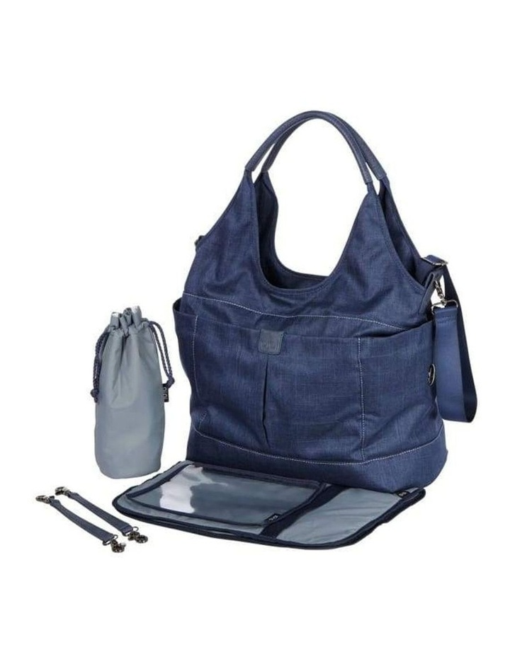 Tote Slouch Nappy Bag - Denim Blue image 2