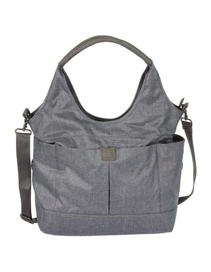 Tote Slouch Nappy Bag - Denim Grey (7028) image 1
