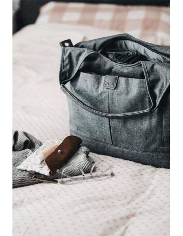 Tote Slouch Nappy Bag - Denim Grey (7028) image 2