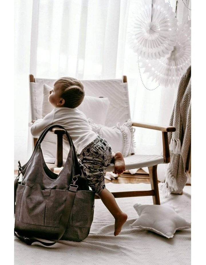 Tote Slouch Nappy Bag - Denim Grey (7028) image 3