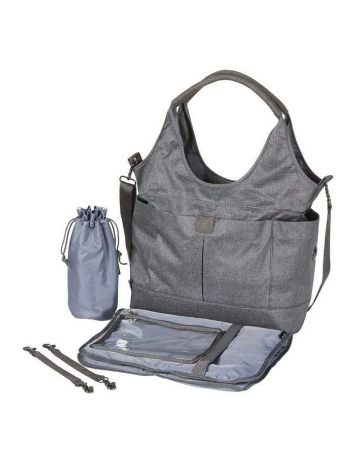 Tote Slouch Nappy Bag - Denim Grey (7028) image 6