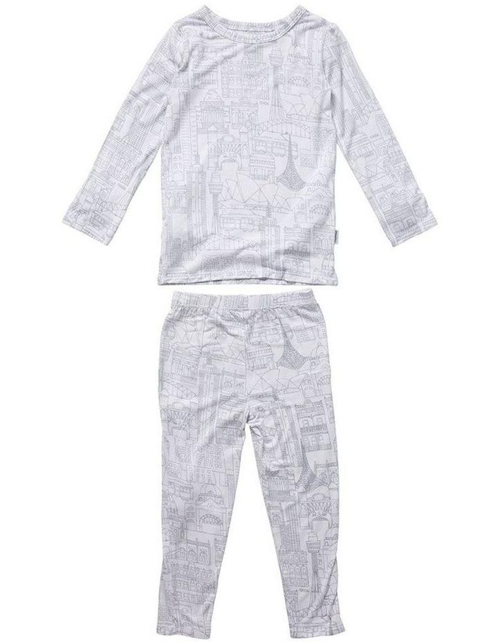 Long Sleeve Pyjama Set - Cityscape image 1