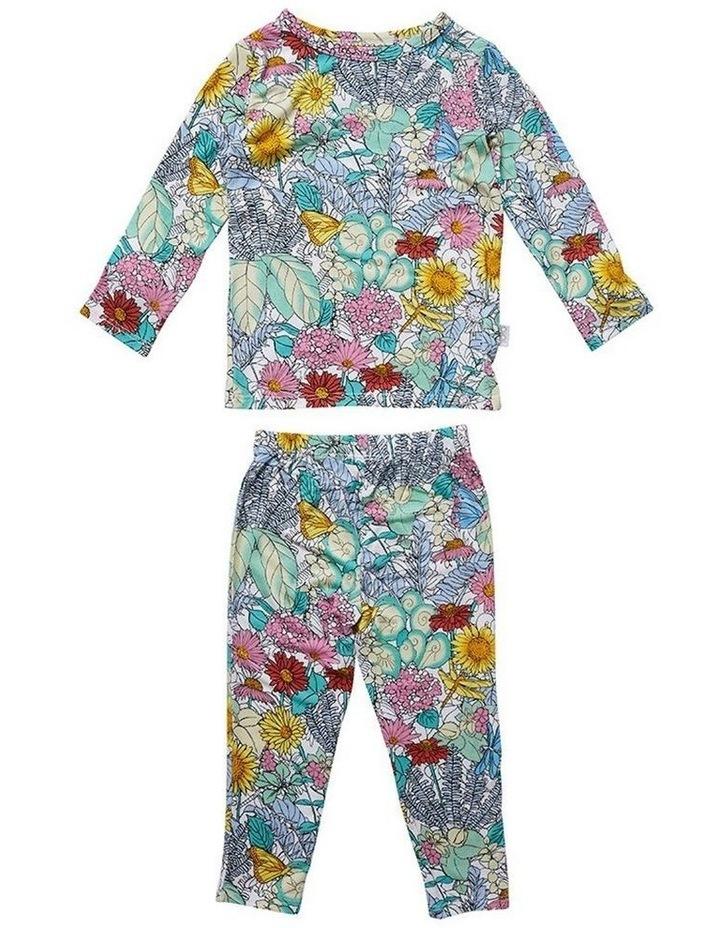 Long Sleeve Pyjama Set - Secret Garden image 1
