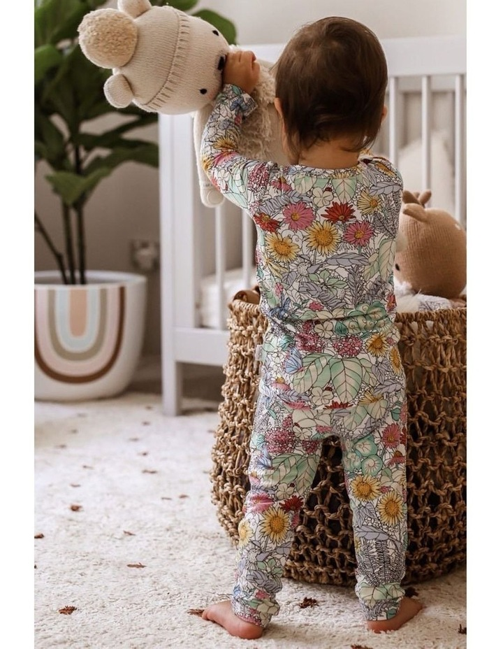 Long Sleeve Pyjama Set - Secret Garden image 3