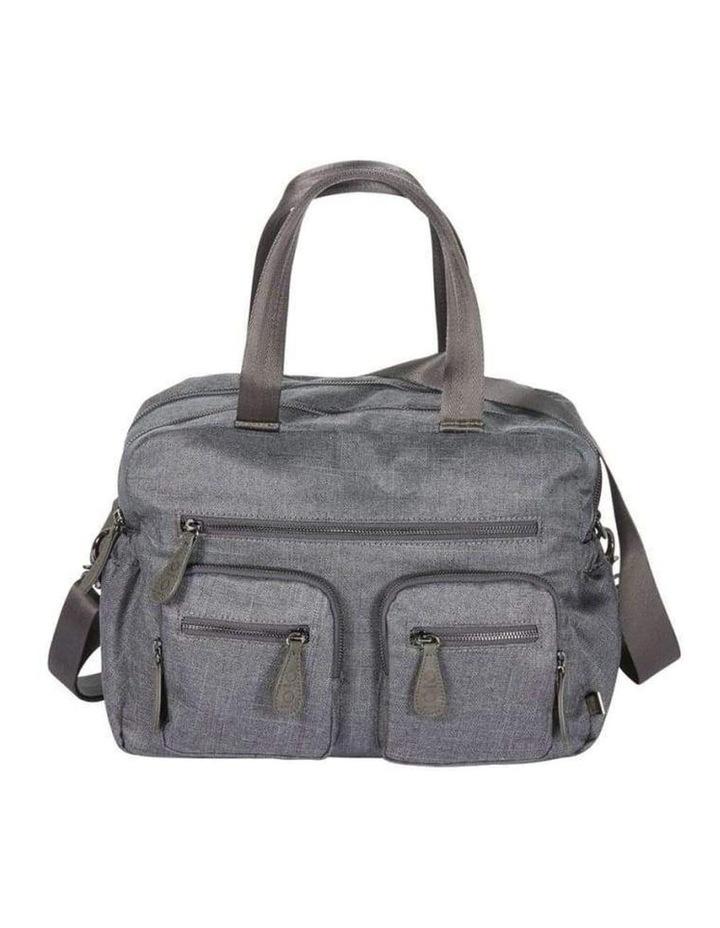 Carry All Denim Grey Nappy Bag image 1