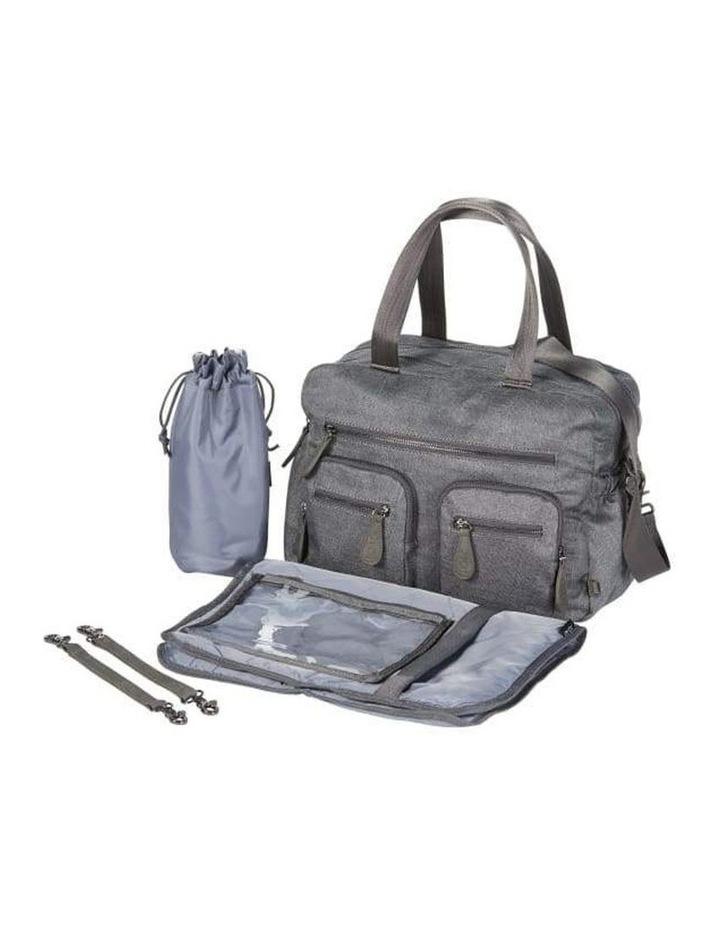 Carry All Denim Grey Nappy Bag image 2