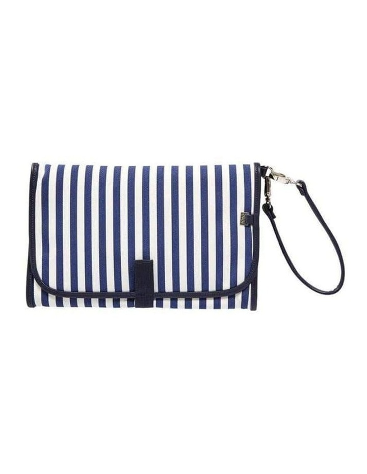 Change Clutch - Navy/White Stripe image 1