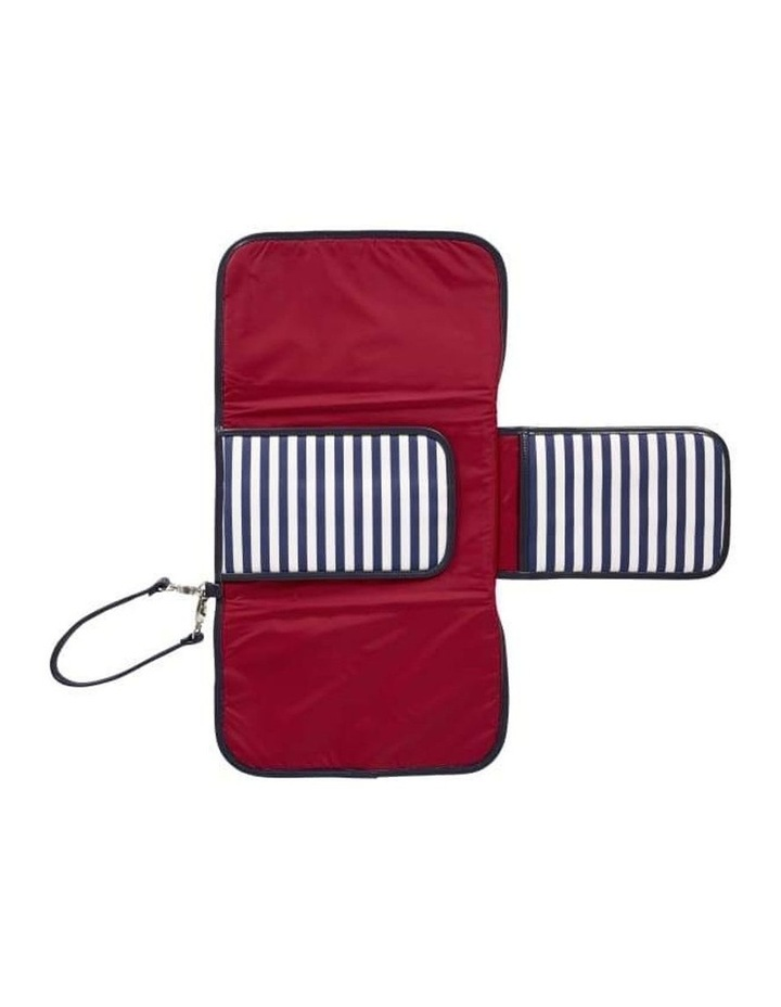 Change Clutch - Navy/White Stripe image 4