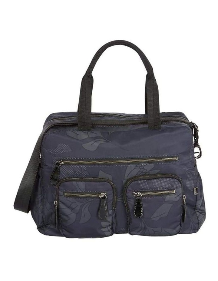 Carry All Black Protea Nappy Bag image 1