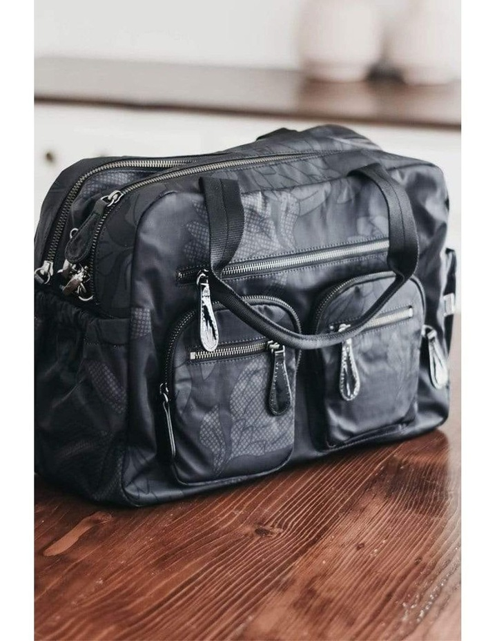 Carry All Black Protea Nappy Bag image 2