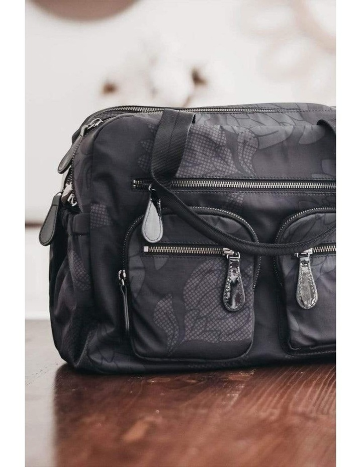 Carry All Black Protea Nappy Bag image 3