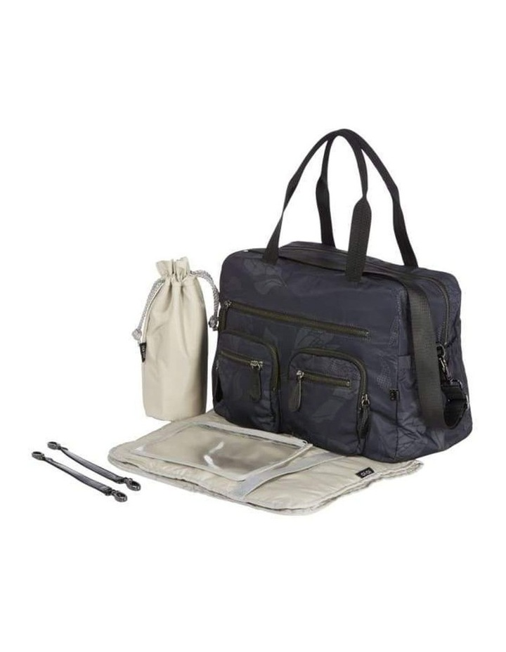 Carry All Black Protea Nappy Bag image 5