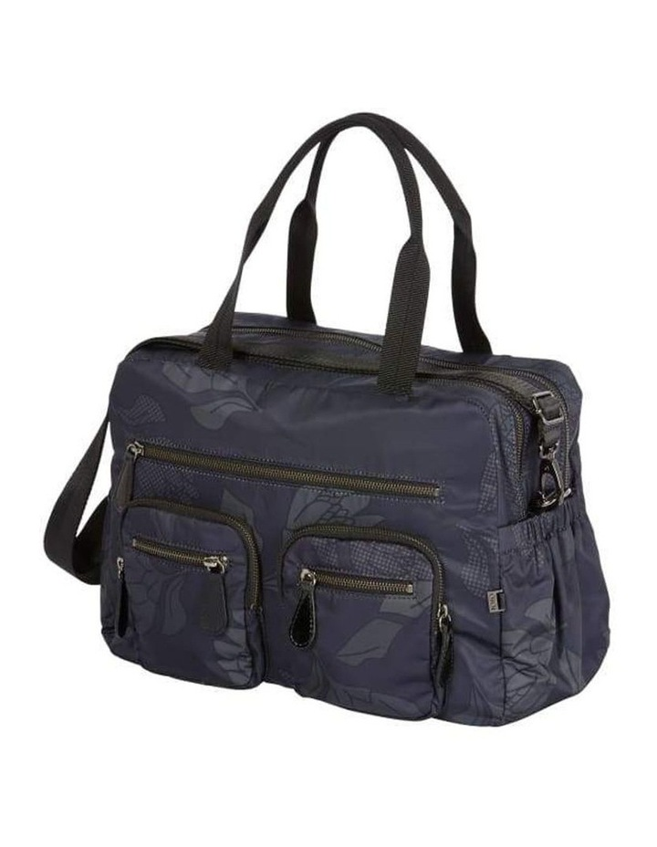 Carry All Black Protea Nappy Bag image 7