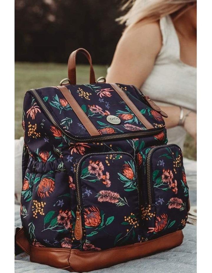 Nappy Backpack - Botanical Floral image 4