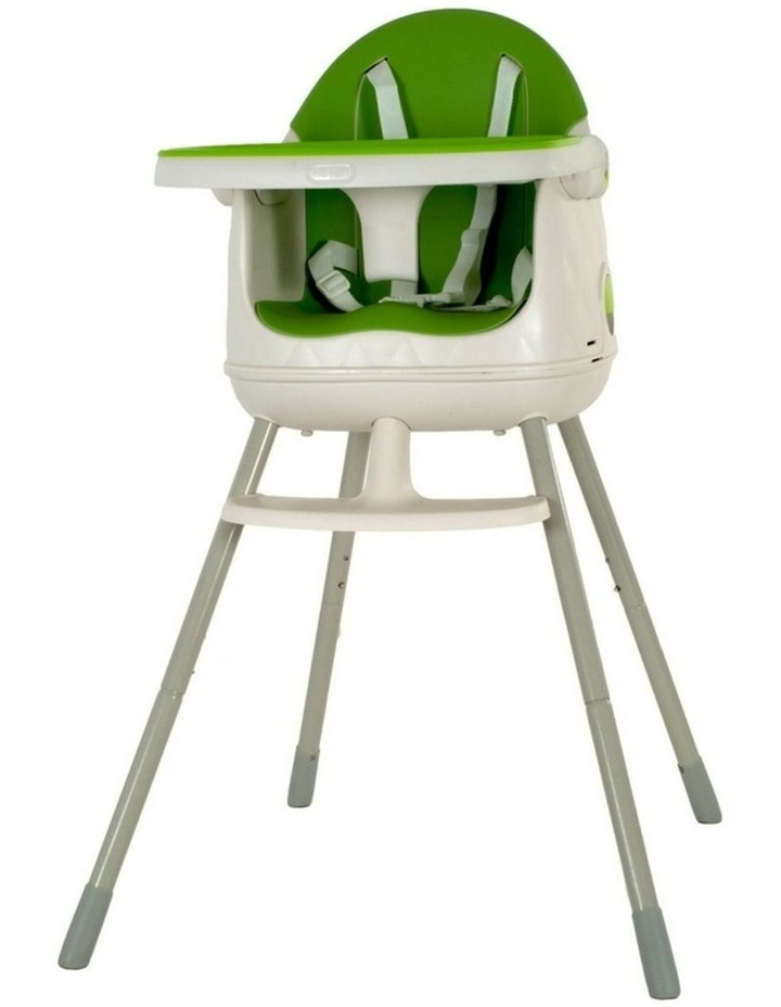 Keter Multi-Dine 3-in-1 High Chair - Green image 1