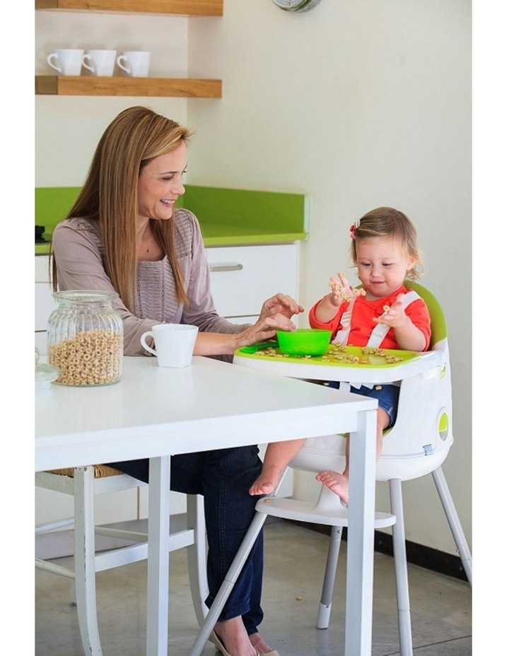 Keter Multi-Dine 3-in-1 High Chair - Green image 2