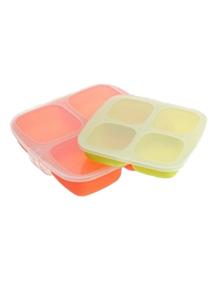 Baby Food Silicone Trays - set of 2 image 1