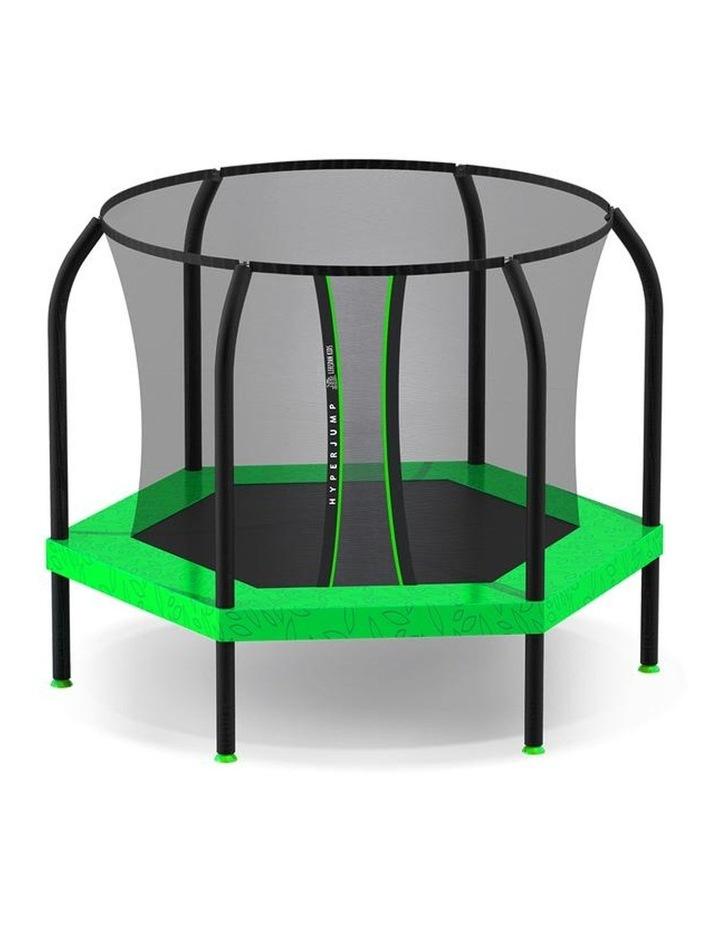 7ft Springless Hoppy 2 Trampoline Set image 2