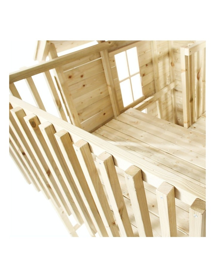 TP Toys Loft Wooden Playhouse image 2