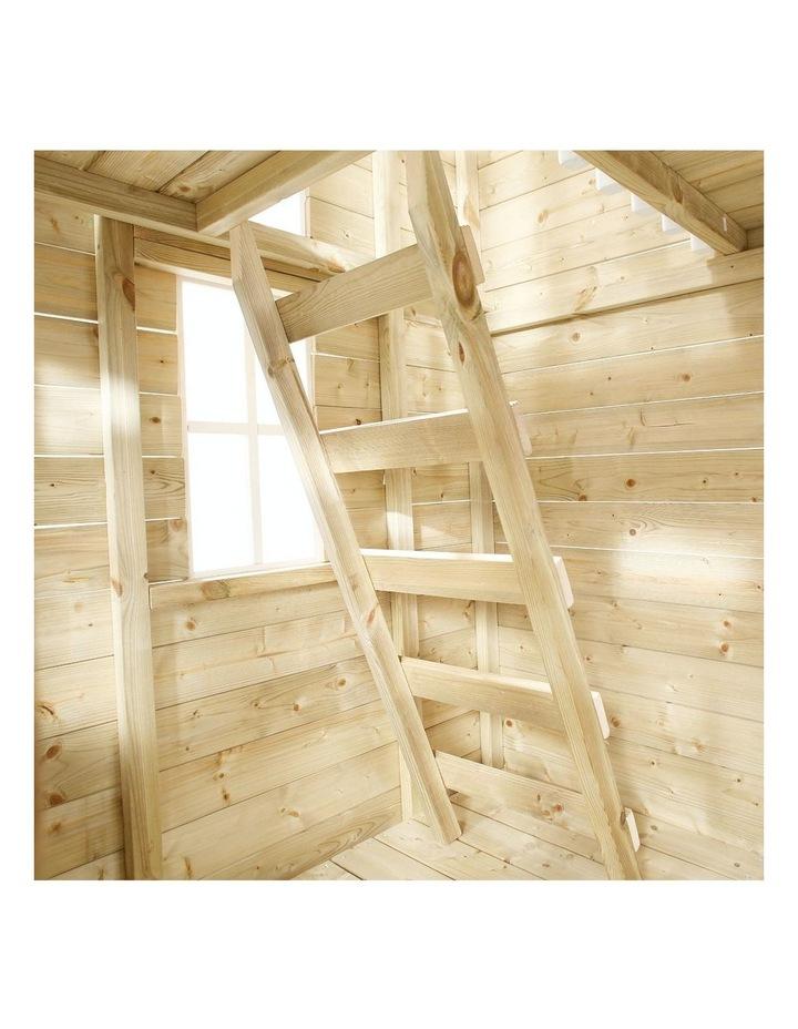 TP Toys Loft Wooden Playhouse image 4