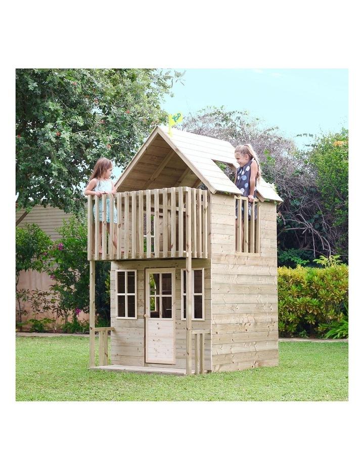 TP Toys Loft Wooden Playhouse image 5