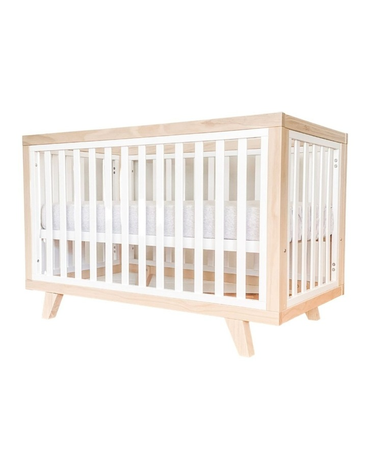 Chelsea Cot to Double Bed Conversion Package - Natural image 1