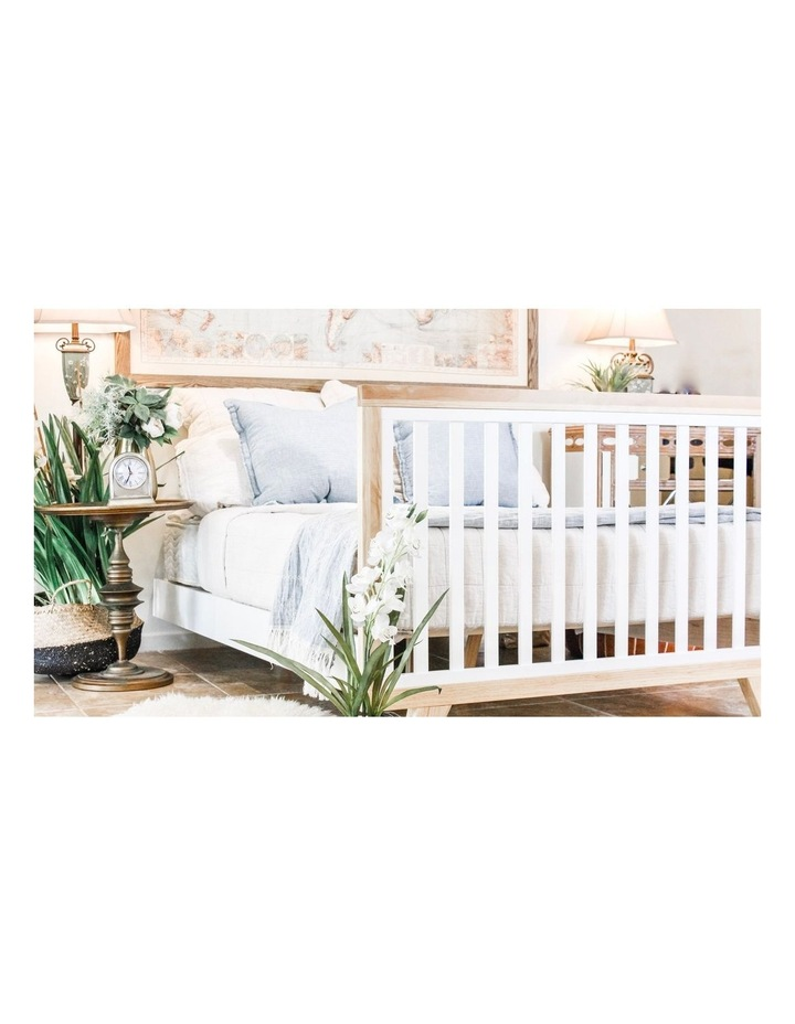 Chelsea Cot to Double Bed Conversion Package - Natural image 2