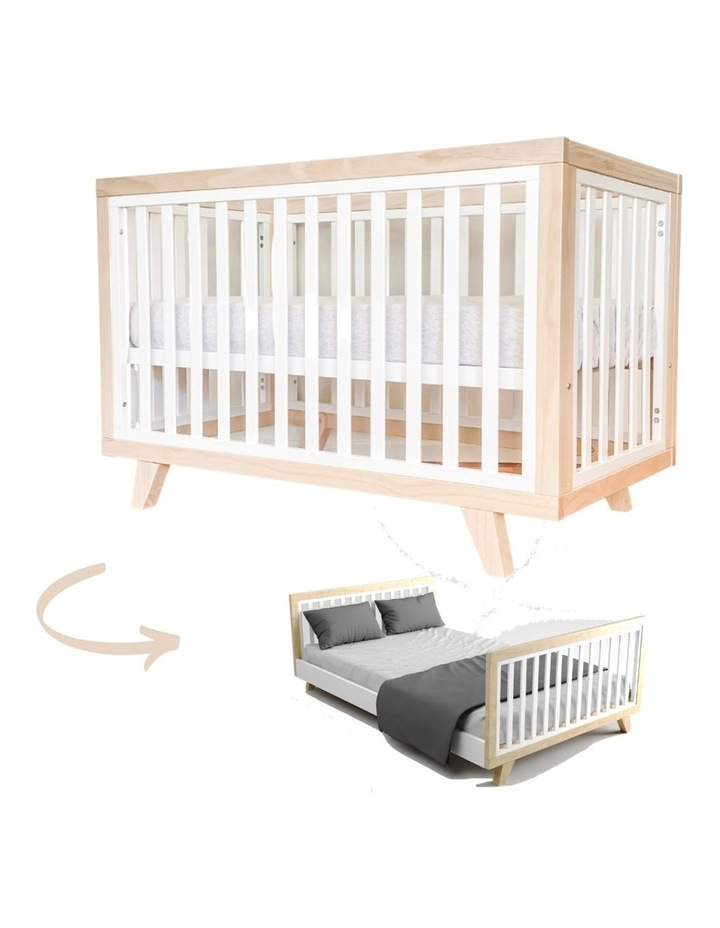 Chelsea Cot to Double Bed Conversion Package - Natural image 3