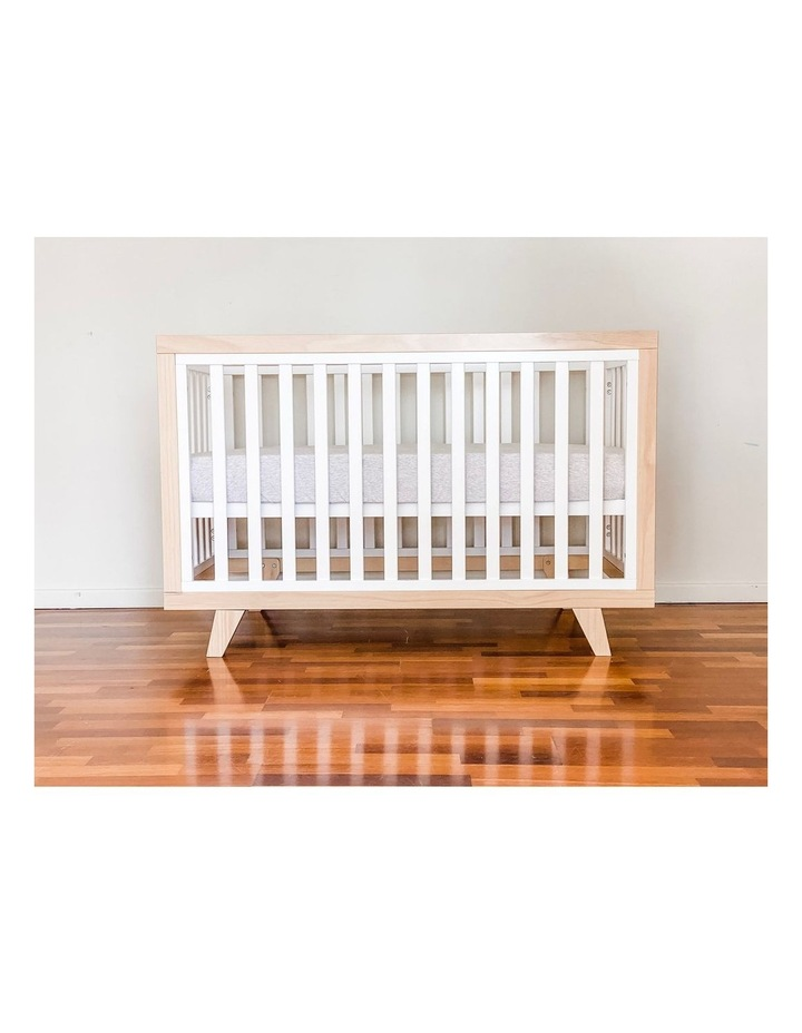 Chelsea Cot to Double Bed Conversion Package - Natural image 4
