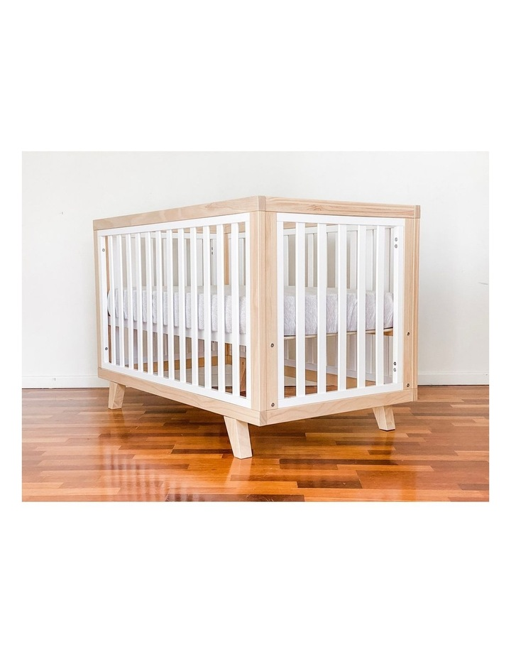 Chelsea Cot to Double Bed Conversion Package - Natural image 5