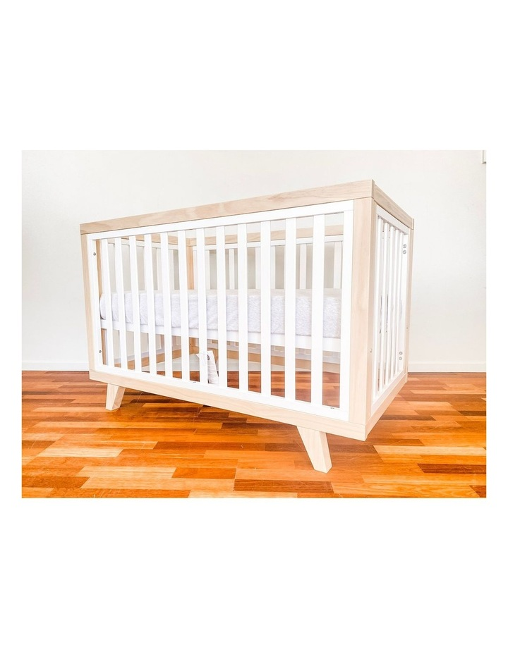 Chelsea Cot to Double Bed Conversion Package - Natural image 6