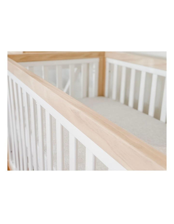 Chelsea Cot to Double Bed Conversion Package - Natural image 7