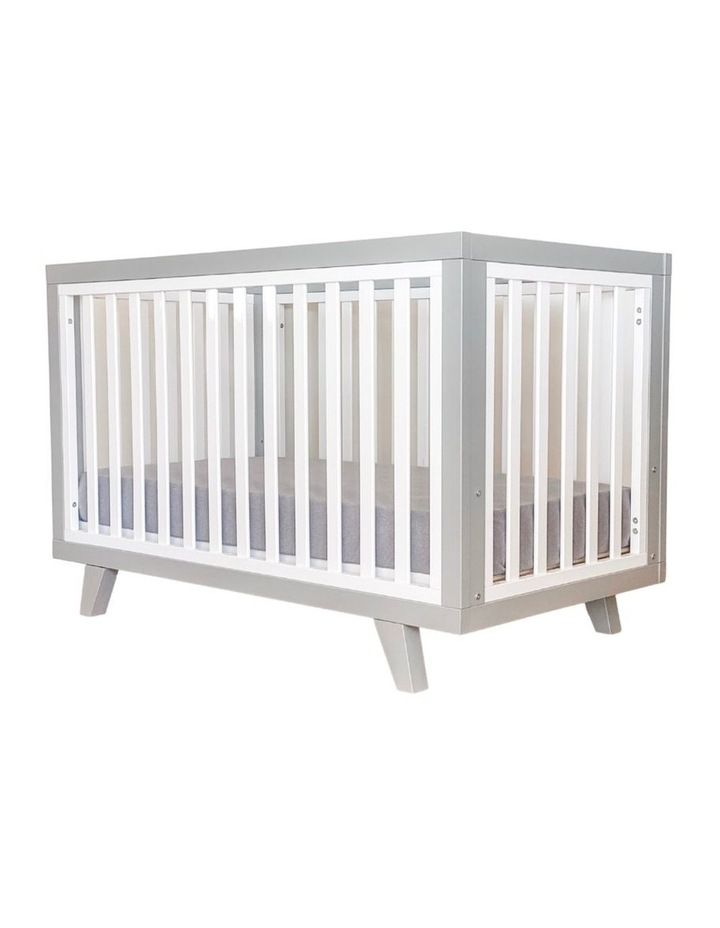 Chelsea Cot to Double Bed Conversion Package - Grey image 1