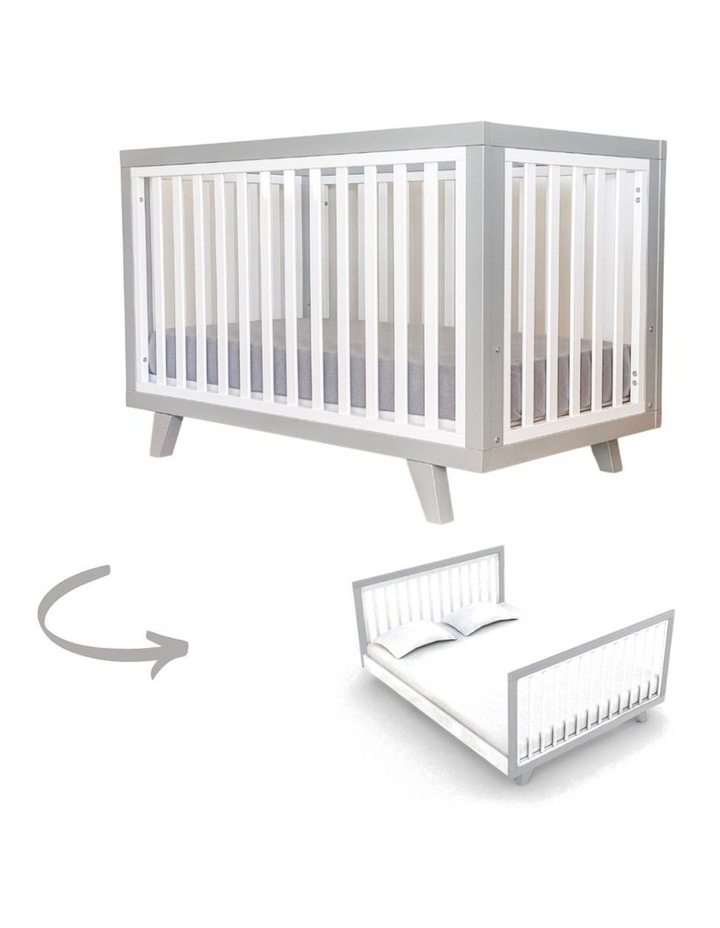 Chelsea Cot to Double Bed Conversion Package - Grey image 3