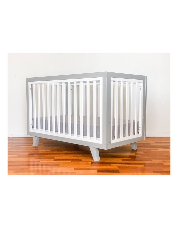 Chelsea Cot to Double Bed Conversion Package - Grey image 4