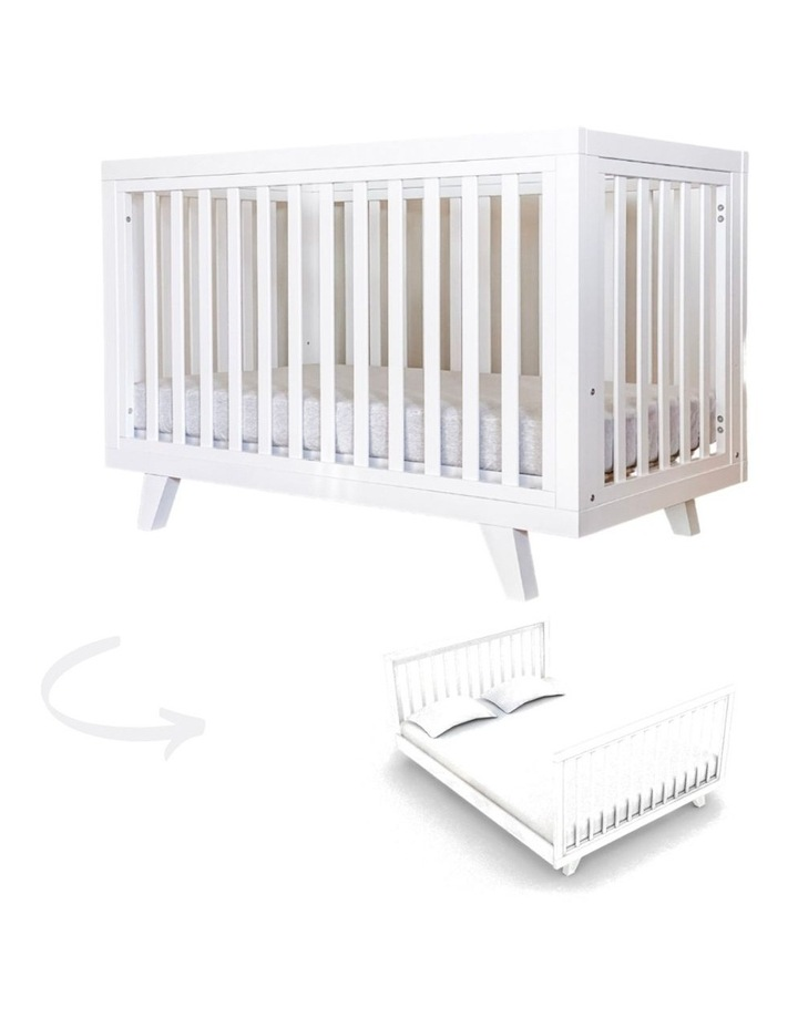 Chelsea Cot to Double Bed Conversion Package - White image 4