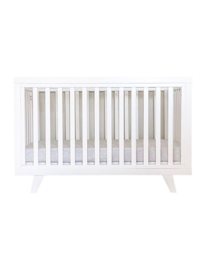 Chelsea Cot to Double Bed Conversion Package - White image 6