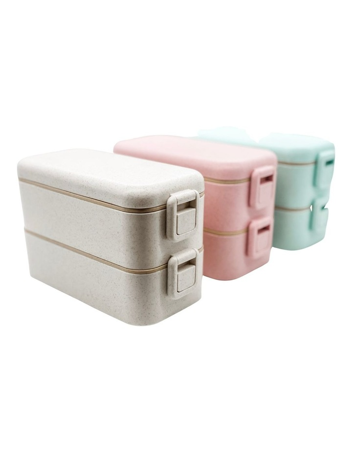 Benton Box -Large  2 Tiered lunch Box - Family Pack of 3 image 1