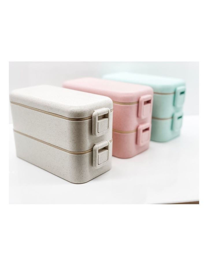 Benton Box -Large  2 Tiered lunch Box - Family Pack of 3 image 3