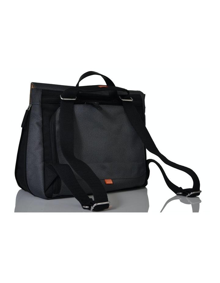 Prescott Combi Nappy Bag - black charcoal image 2